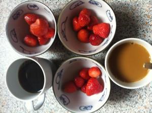 Kávé és Eper