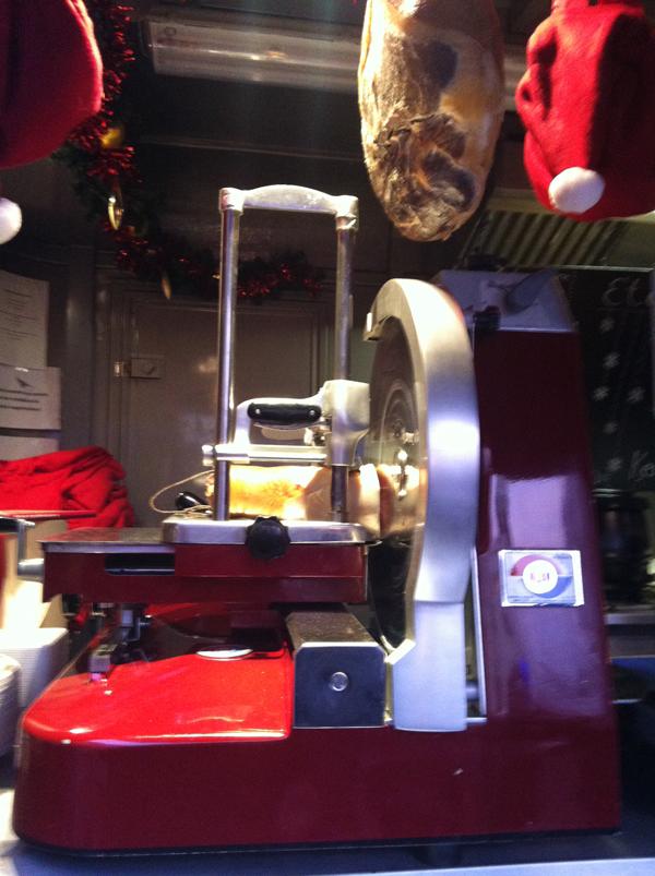 Szeletelőgép a DiVino standon