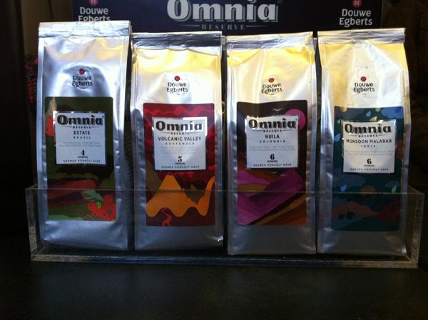 Négy területszelektált kávé a Douwe Egberts-től