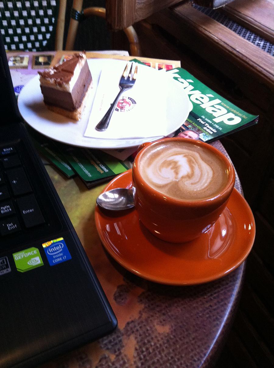 Cafe Frei szeptember elején